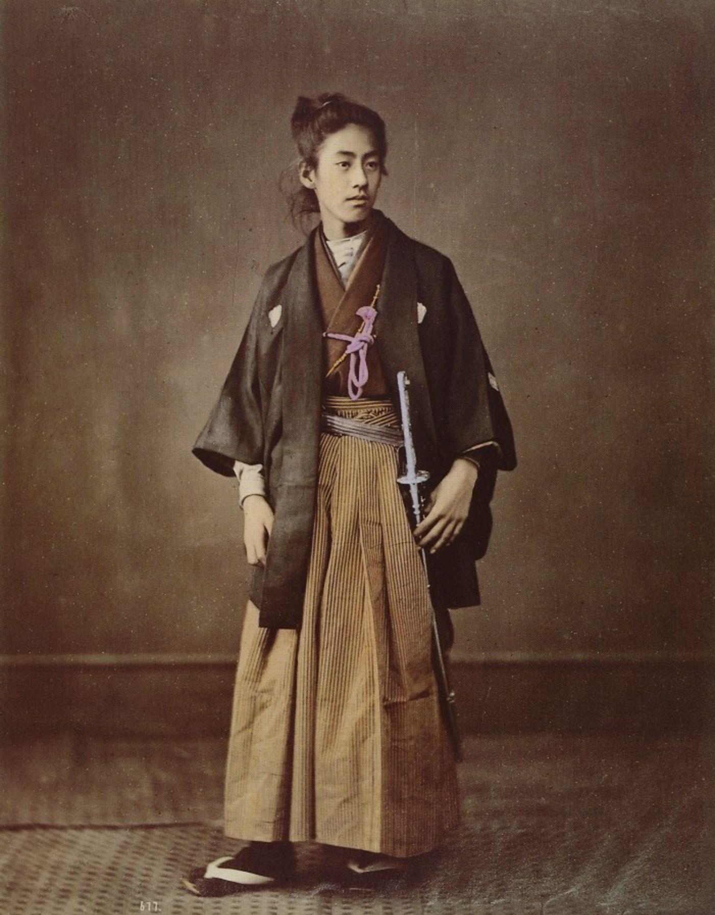 Молодой самурай