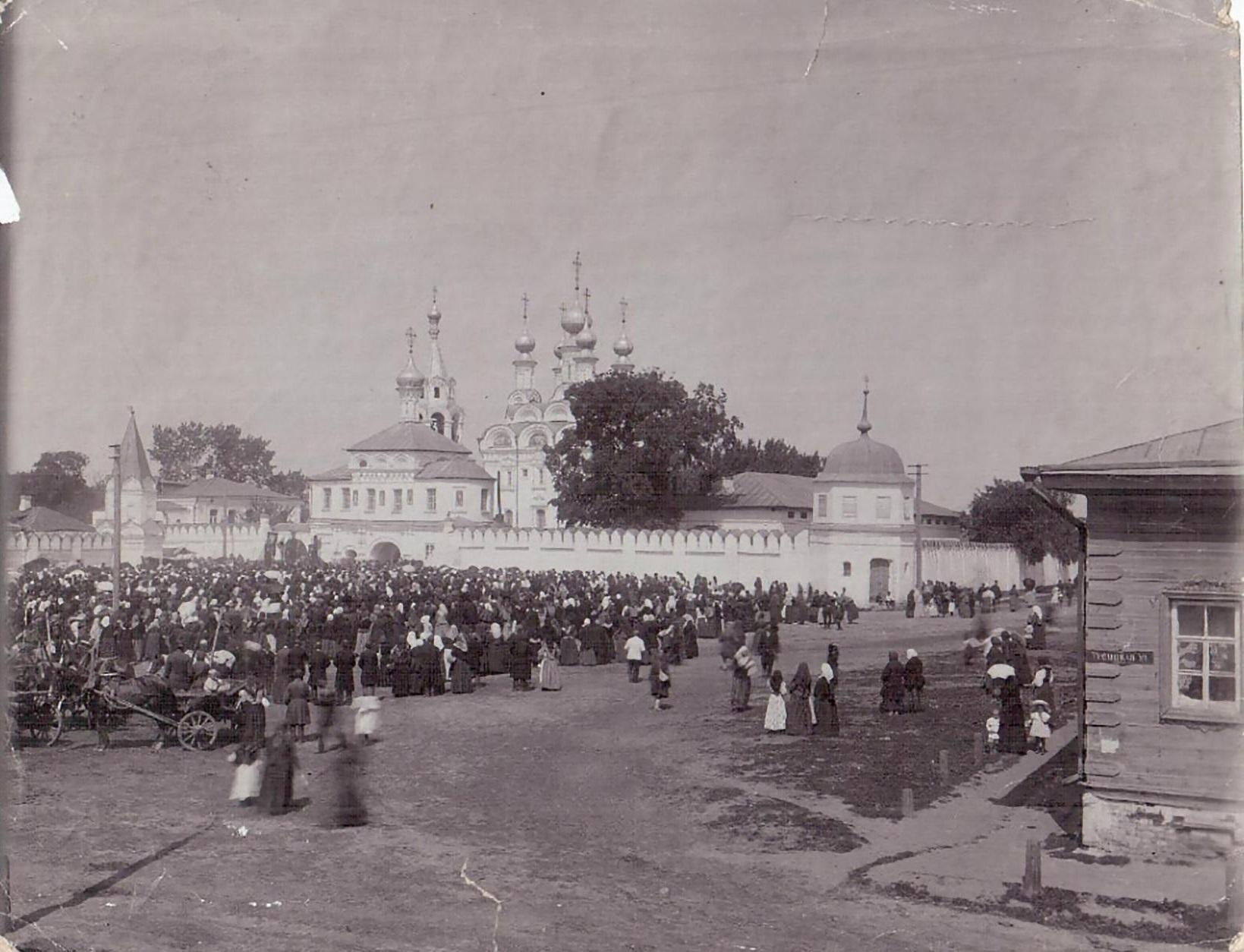 Рынок на Троицкой площади