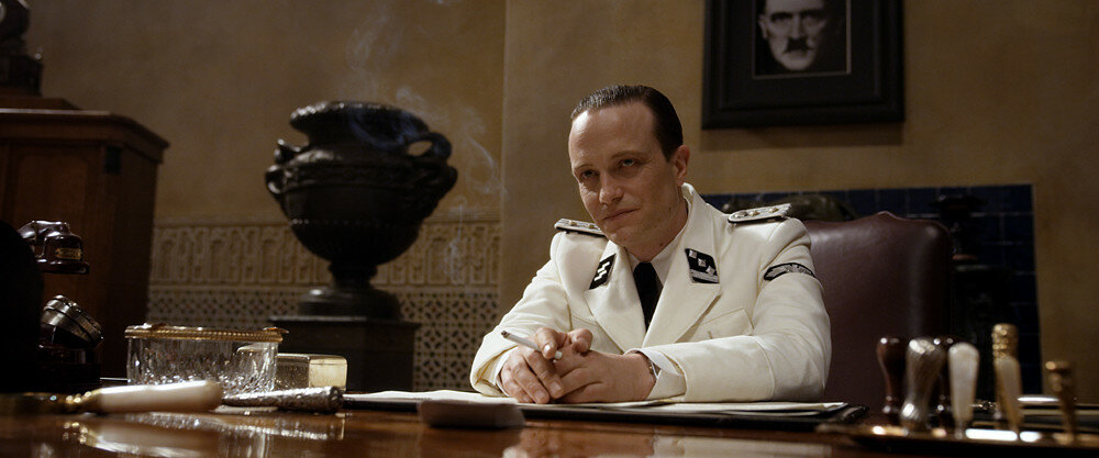 August Diehl plays Hobar in Allied from Paramount Pictures.