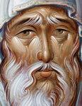 Преподобный Антоний Великий (деталь)