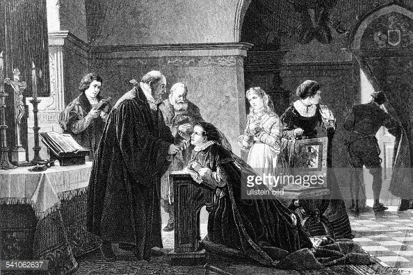 Elisabeth von Brandenburgnimmt heimlich das Abendmahl1537_Adolf Treidler.jpg