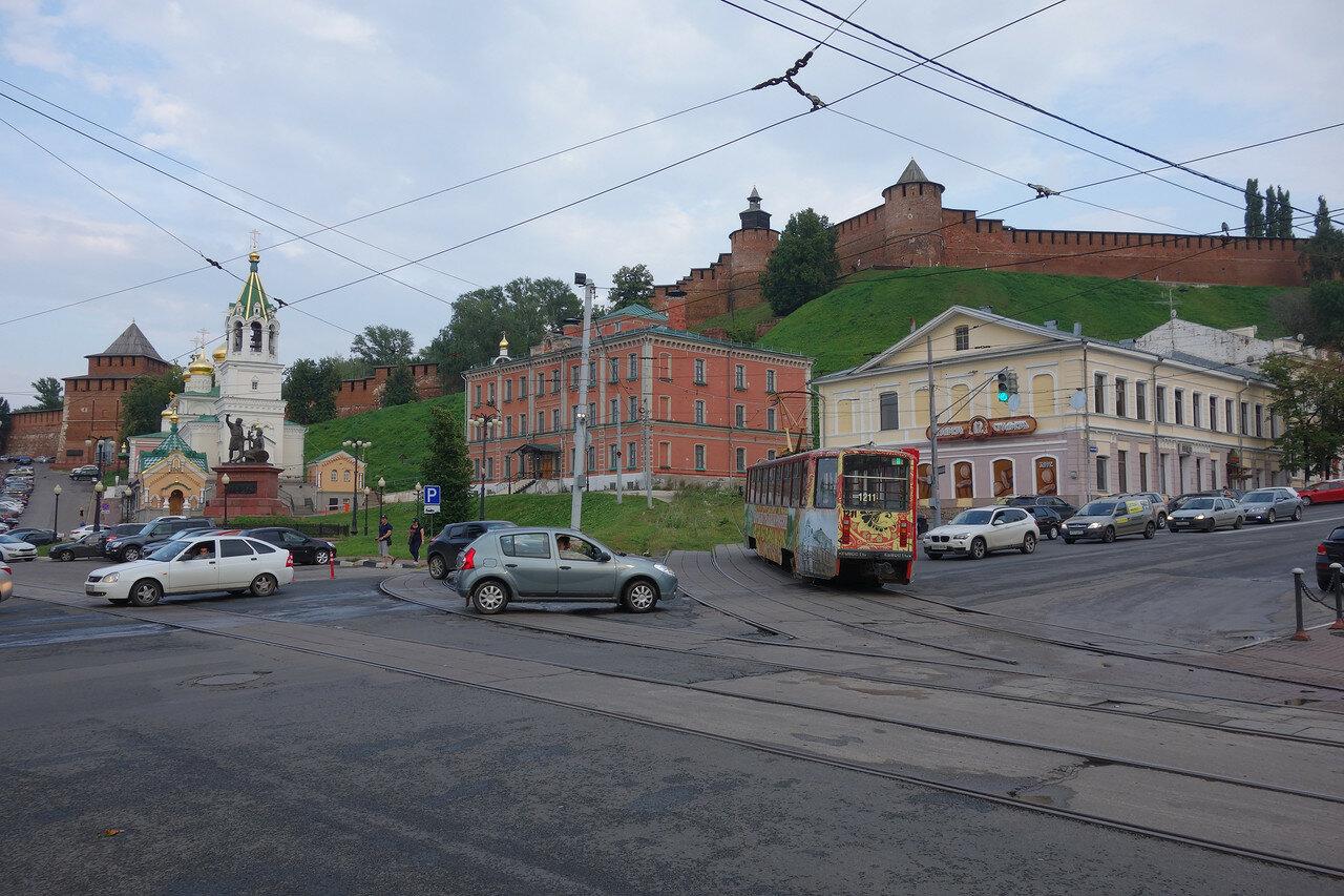 кремль и трамвай