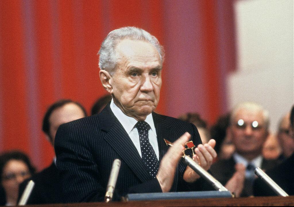 Председатель Совета Министров СССР Косыгин А.Н., 1980 год