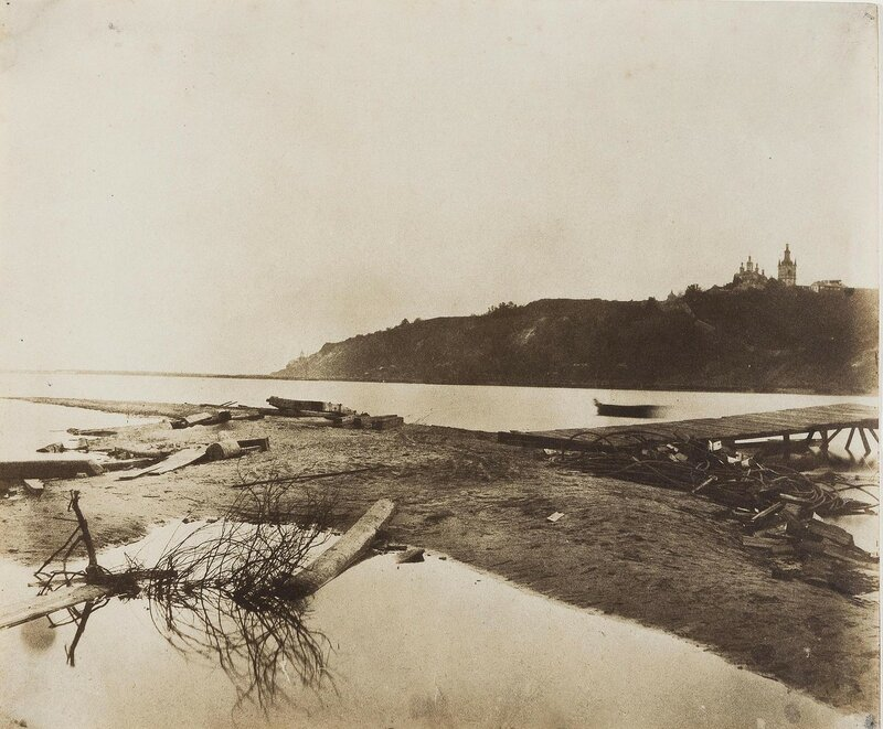 1852 Kief The banks of the Dnieper near Kief Fenton Берега Днепра близ Киева.jpg