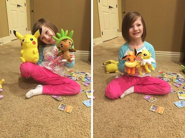 6-летняя девочка купила себе подарков на 250$ при помощи отпечатка пальца мамы