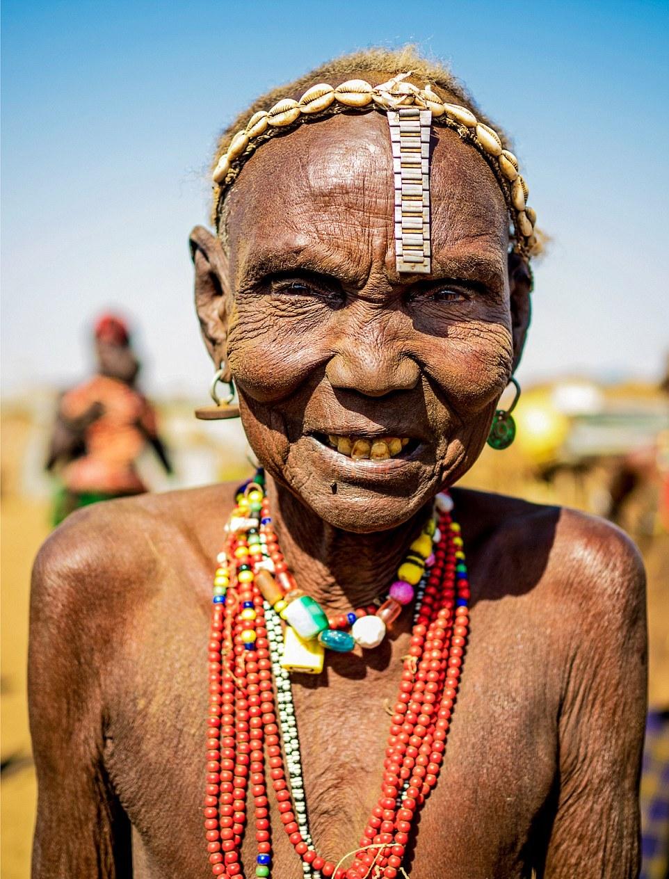 Красотки из Эфиопских племен