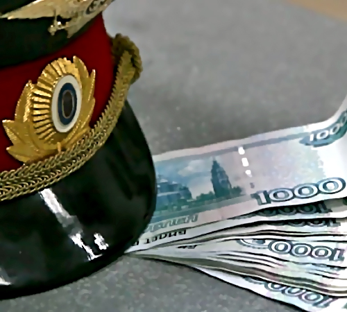 ВПриморье сотрудник ГИБДД подозревается вполучении взятки