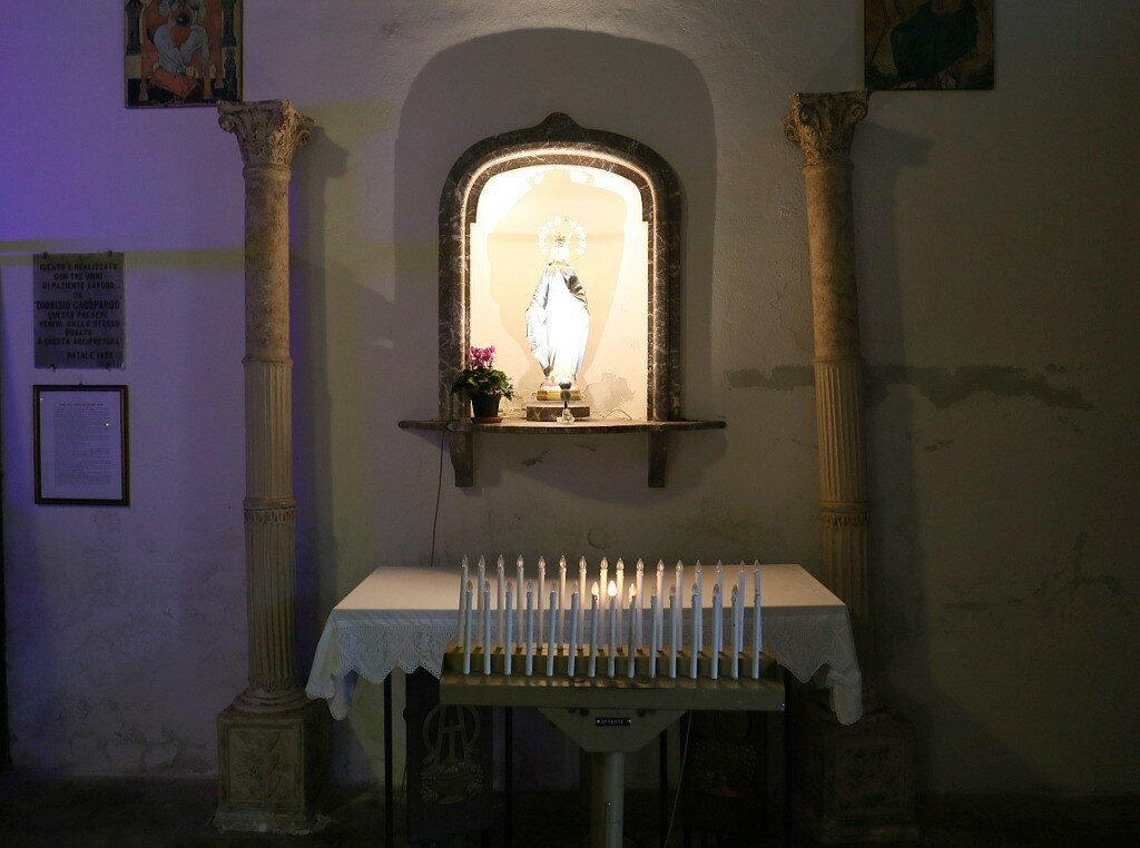Таормина. Церковь Святого Антония Абате (Chiesa Sant'Antonio Abate)