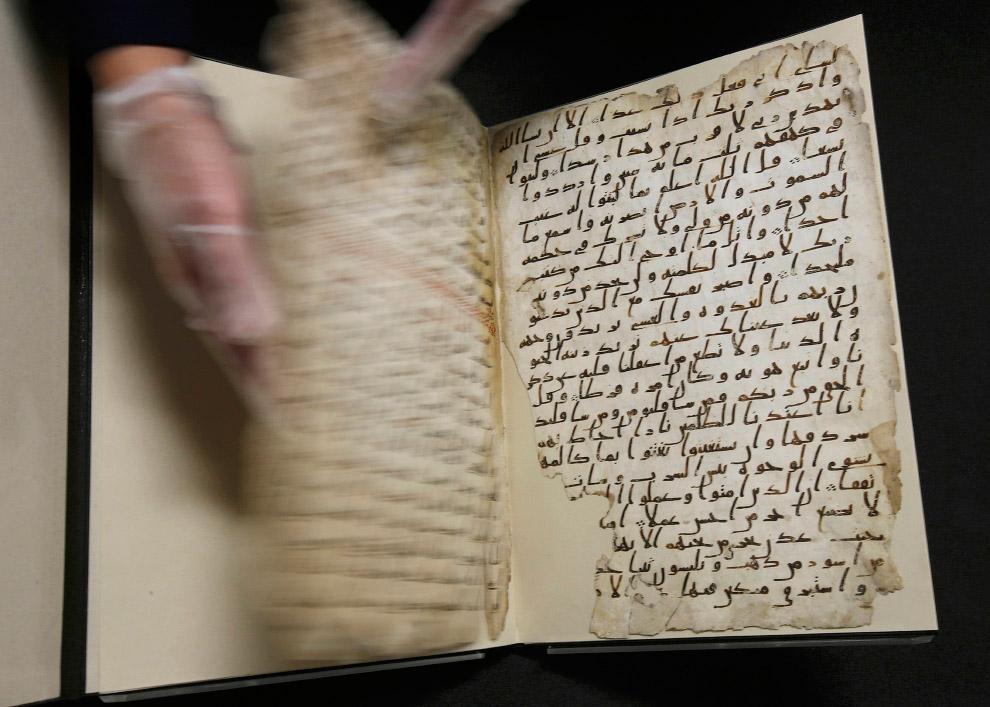 8. Умели делать: текст самого древнего в мире Корана отчетливо читается до сих пор. (Фото Peter
