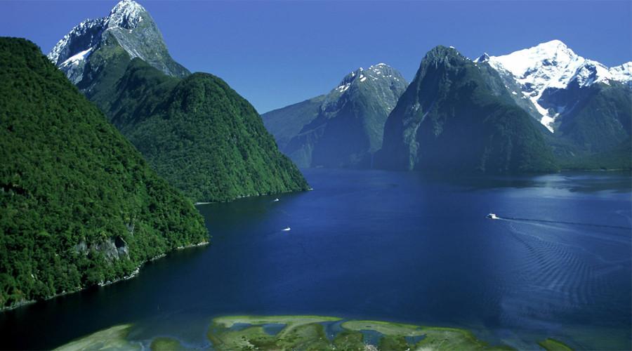 11. Фьордленд, Новая Зеландия Фьордленд является крупнейшим в Новой Зеландии Национальным парком, сф