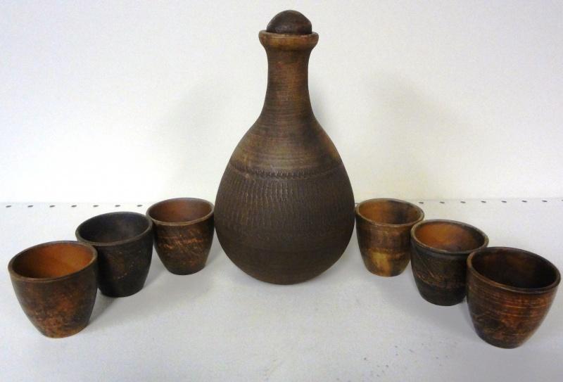 Изделия из красной глины (1 фото)