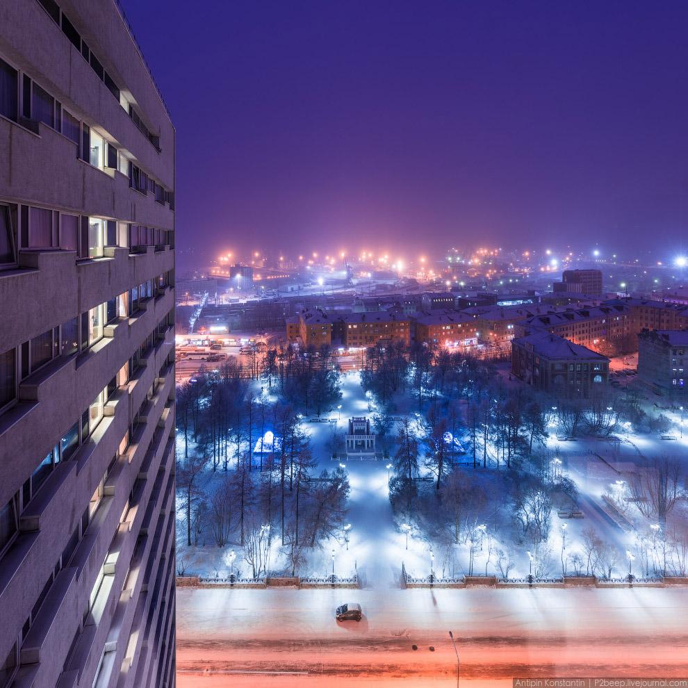 18. Парки зимой — отдельная тема…