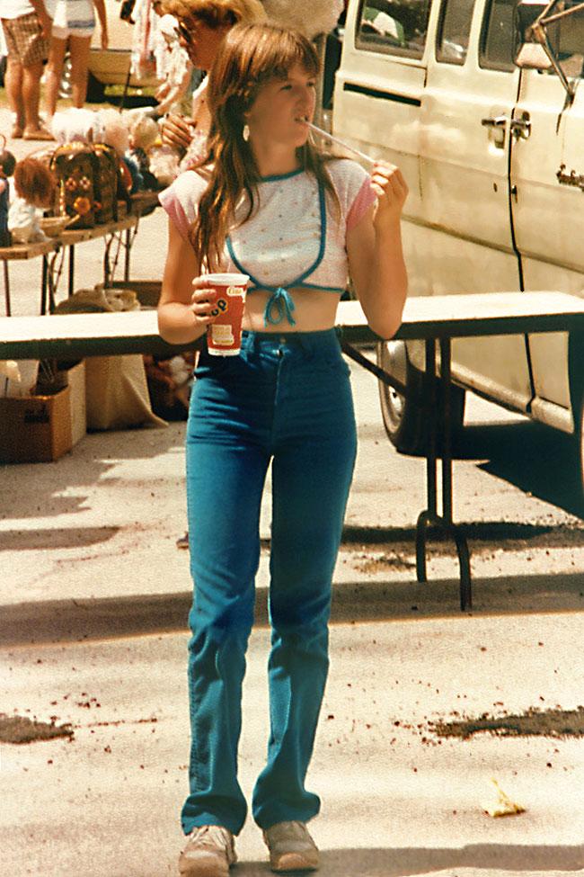 Веселые и юные американки 80-х