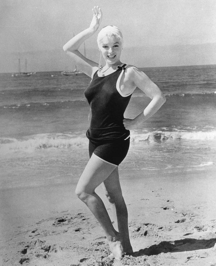 3. Мэрилин Монро. 1959 год. Кадр из фильма «Некоторые любят погорячее»