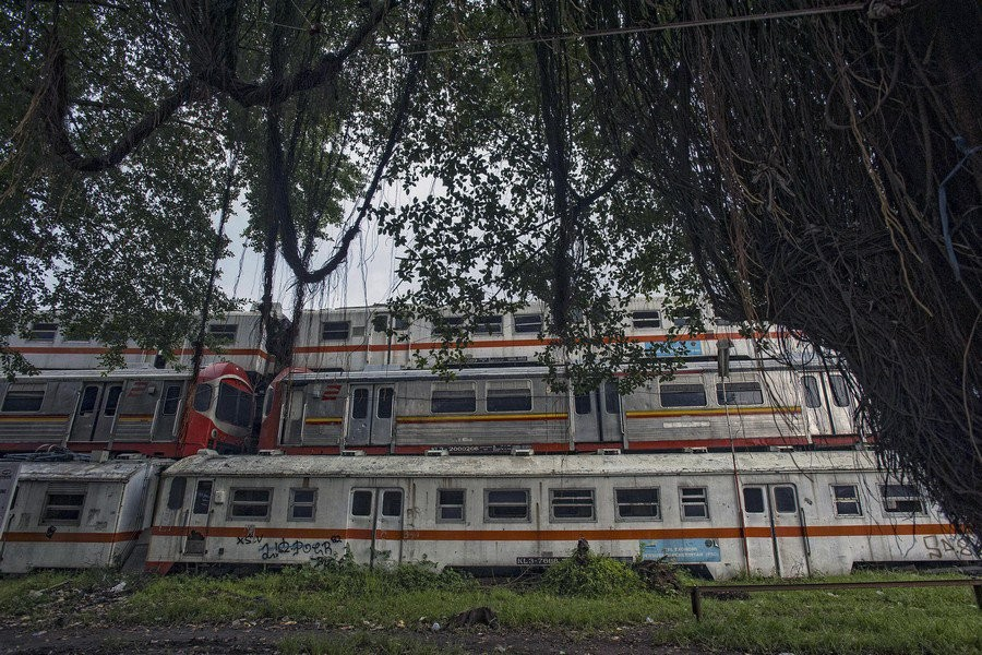 Пурвакарта – последнее пристанище электричек