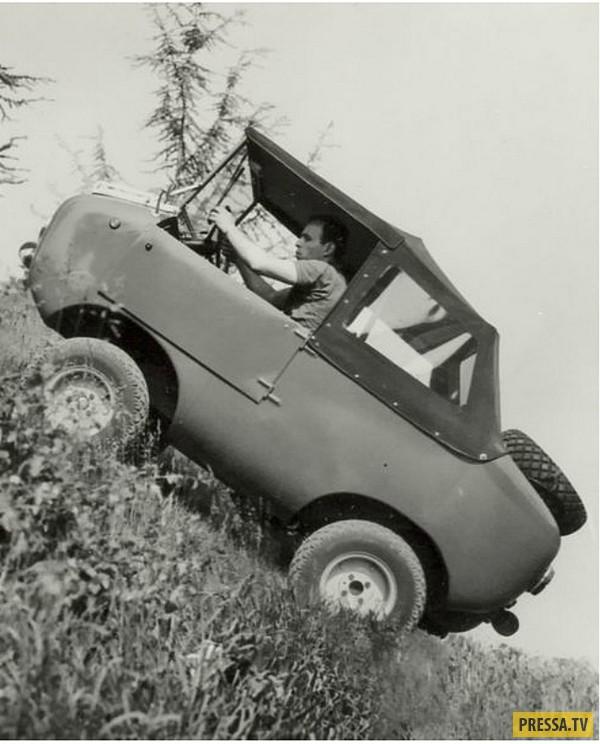 Итальянский мини-внедорожник Ferves Ranger, 1965 г.