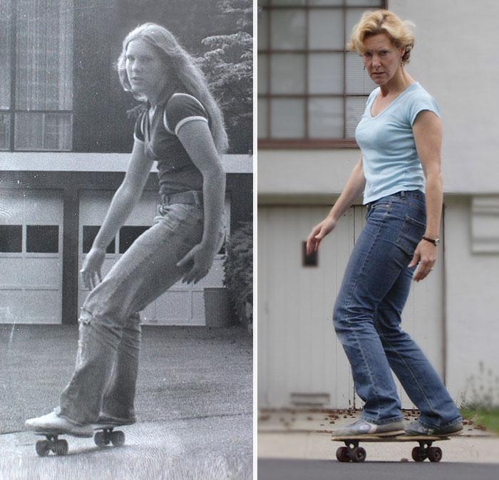 «1978 и 2008 — моя первая доска».