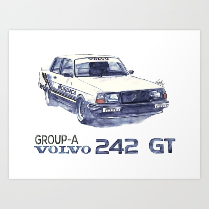 Volvo ART - Turbo 242GT