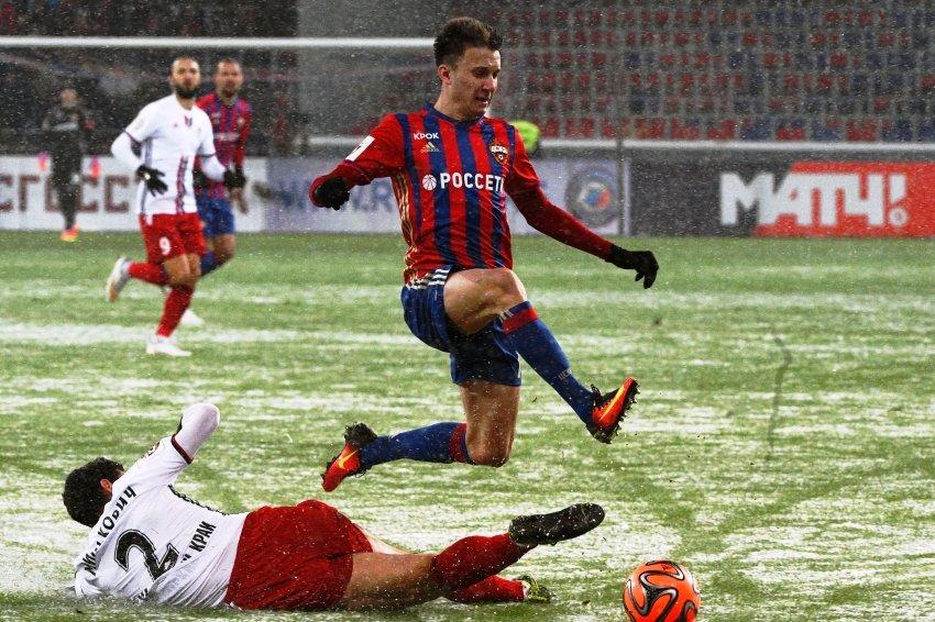 Александр Головин признан лучшим молодым футболистом Российской Федерации