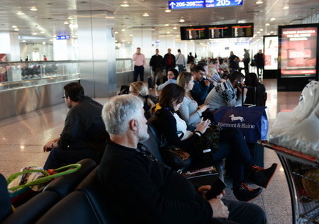 Ваэропортах столицы  задерживаются 35 рейсов , столькоже отменены
