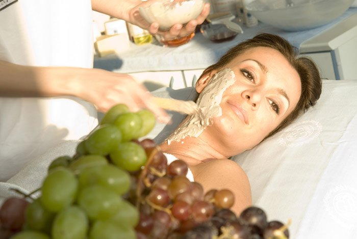 Виноград защищает отрака кожи— Ученые