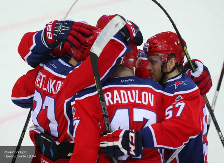 ЦСКА победил «Йокерит» вовтором матче серии 1/8 финала плей-офф КХЛ