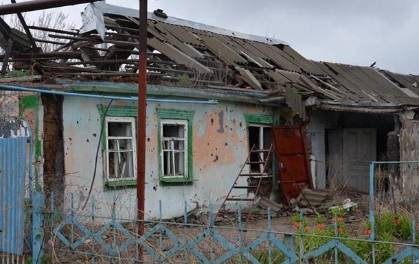 Ранен мирный гражданин — Обстрел Марьинки