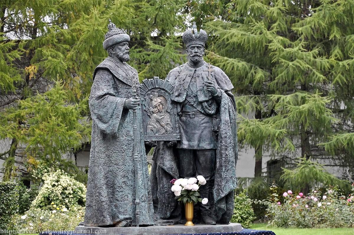 20160113-Николай II и Церковь. Статистика храмов и монастырей. Канонизации
