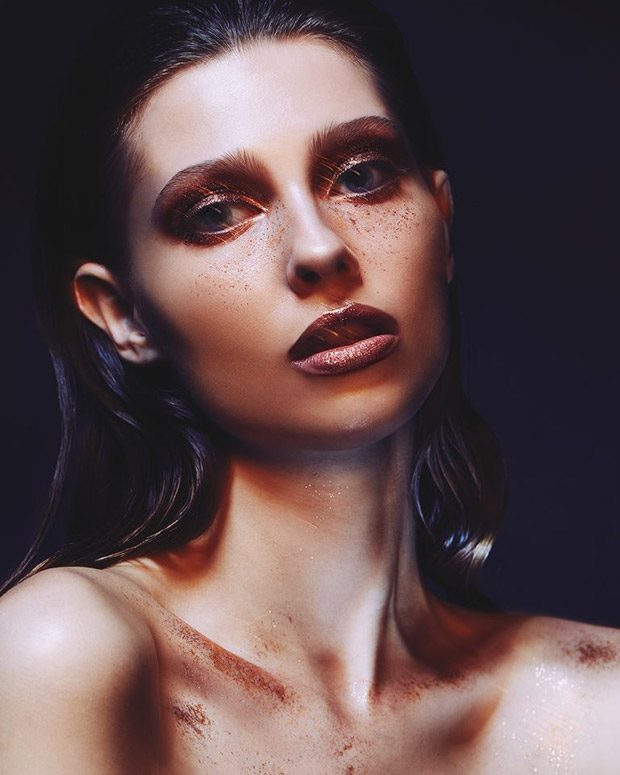 Gloss & Glitter by Aldona Karczmarczyk for L'Officiel Ukraine
