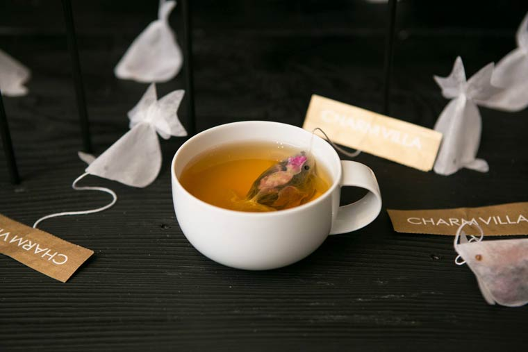 Goldfish Tea Bag - When cute little fishes are swimming in your cup
