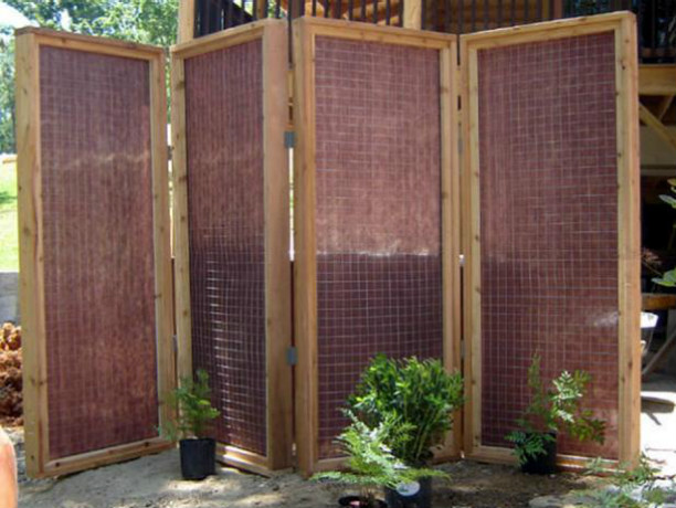 Tutorial: DIY Network Build these decorative panels using deck planks and lattice wood panels.