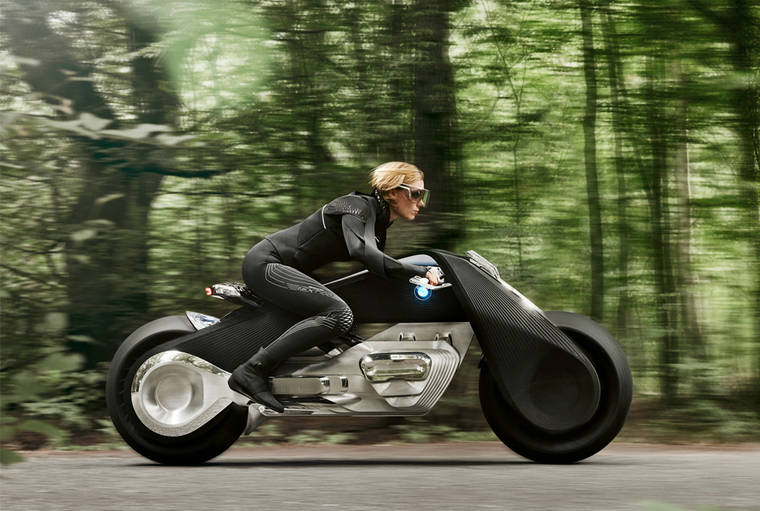 BMW Motorrad - Impressive concept of autonomous and connected motorcycle