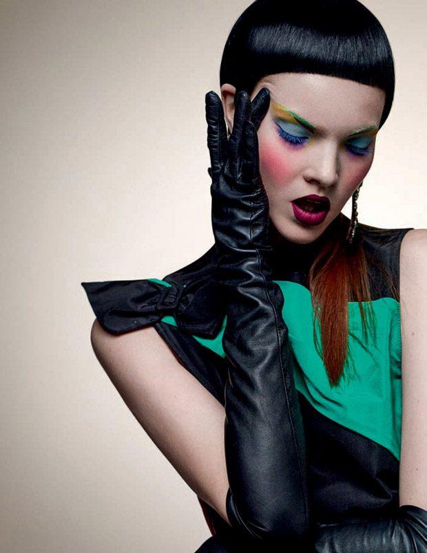 Anastasia Ivanova Poses for Vogue Portugal December 2016 Issue (12 pics)