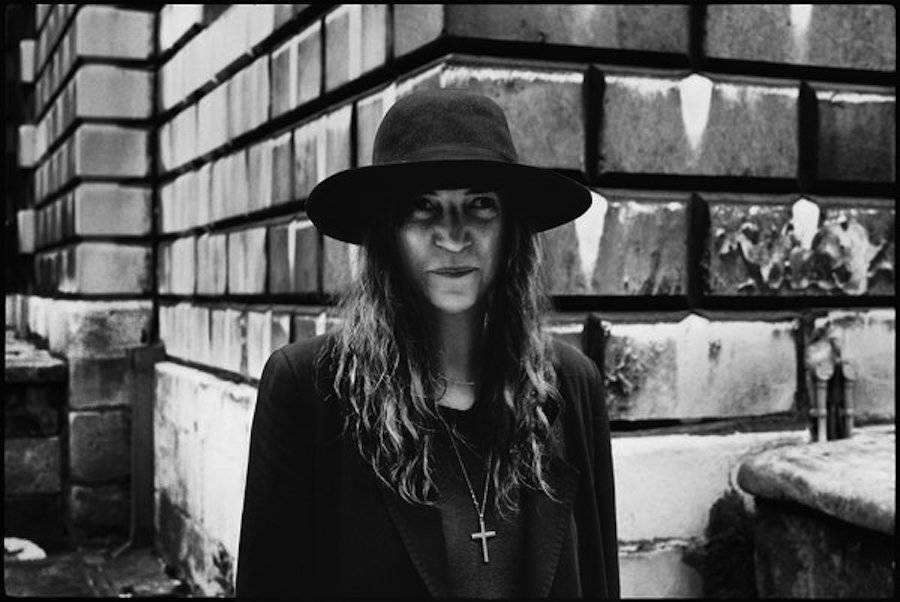 Patti Smith, London, 2000