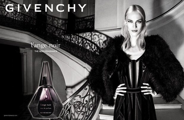Aymeline Valade is the Face of Givenchy L'Ange Noir 2016 Campaign (4 pics)