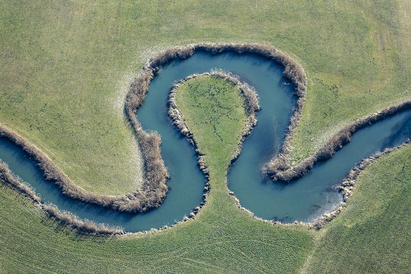 River Vils At Schalkham, Bavaria