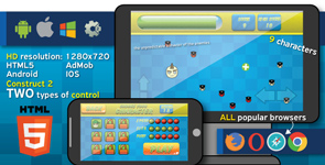 Android and IOS games. Buy here. Construct 2 capx