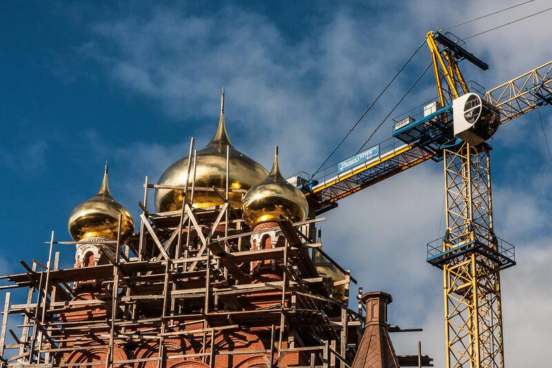 Купола Свято-Троицкого собора