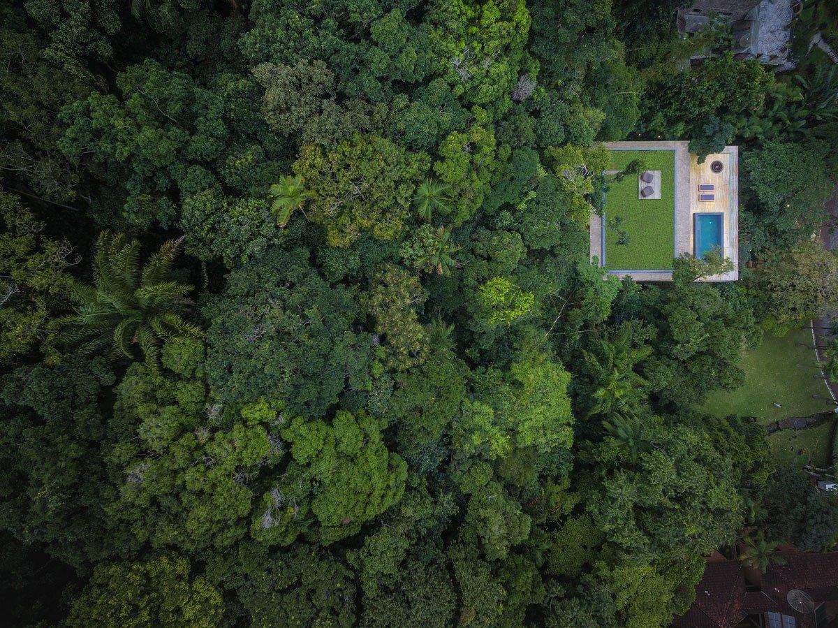 Дом посреди джунглей от Studiomk27