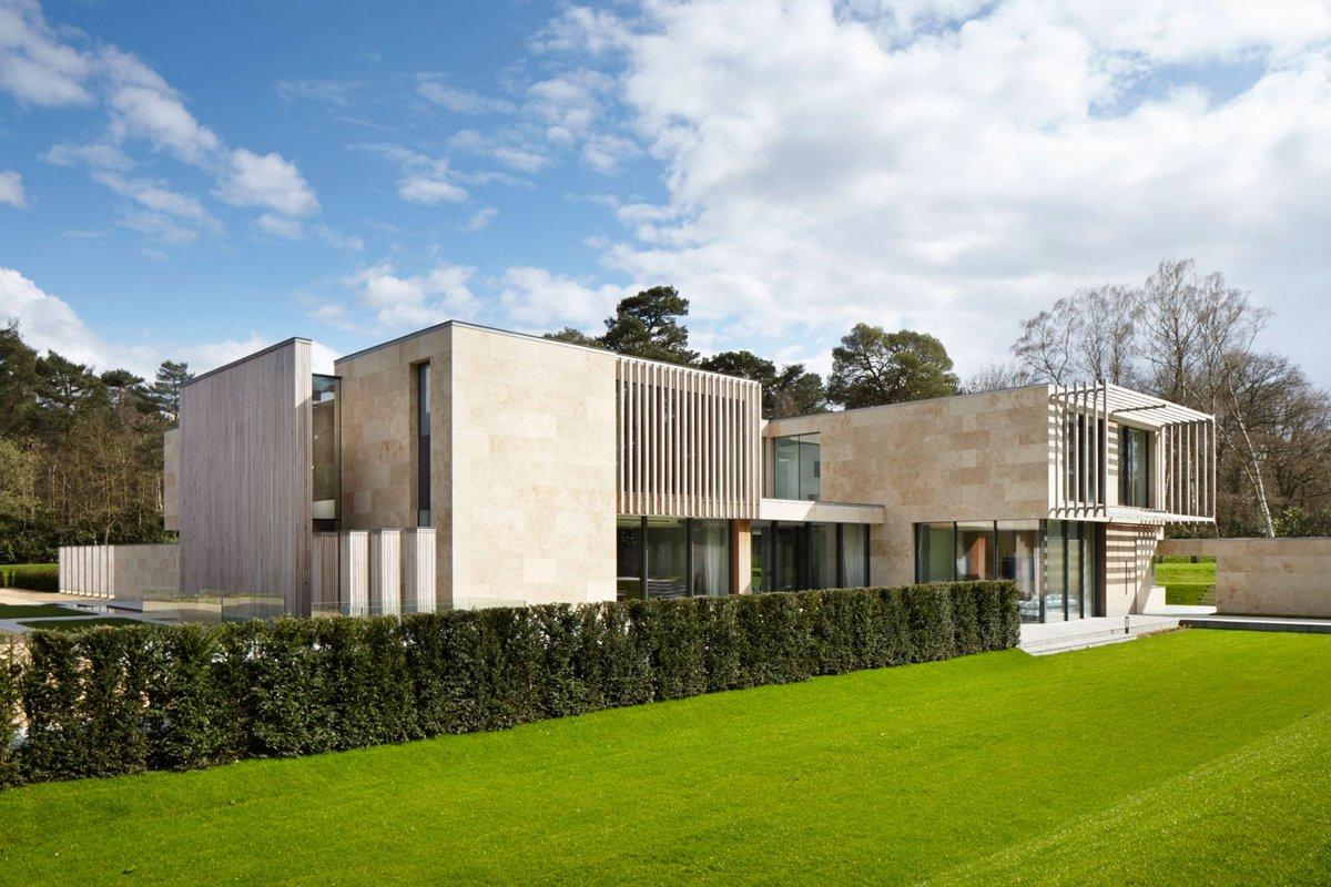 ландшафтный дизайн английского дома