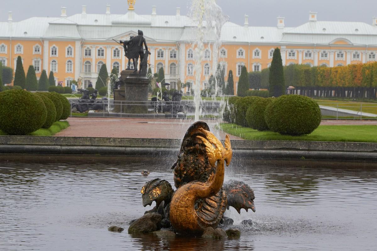 Окрестности Петербурга - Петергоф - Верхний сад