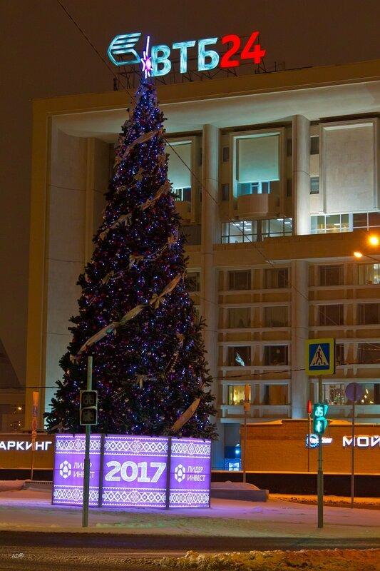 Ночная Москва 2017-01-15