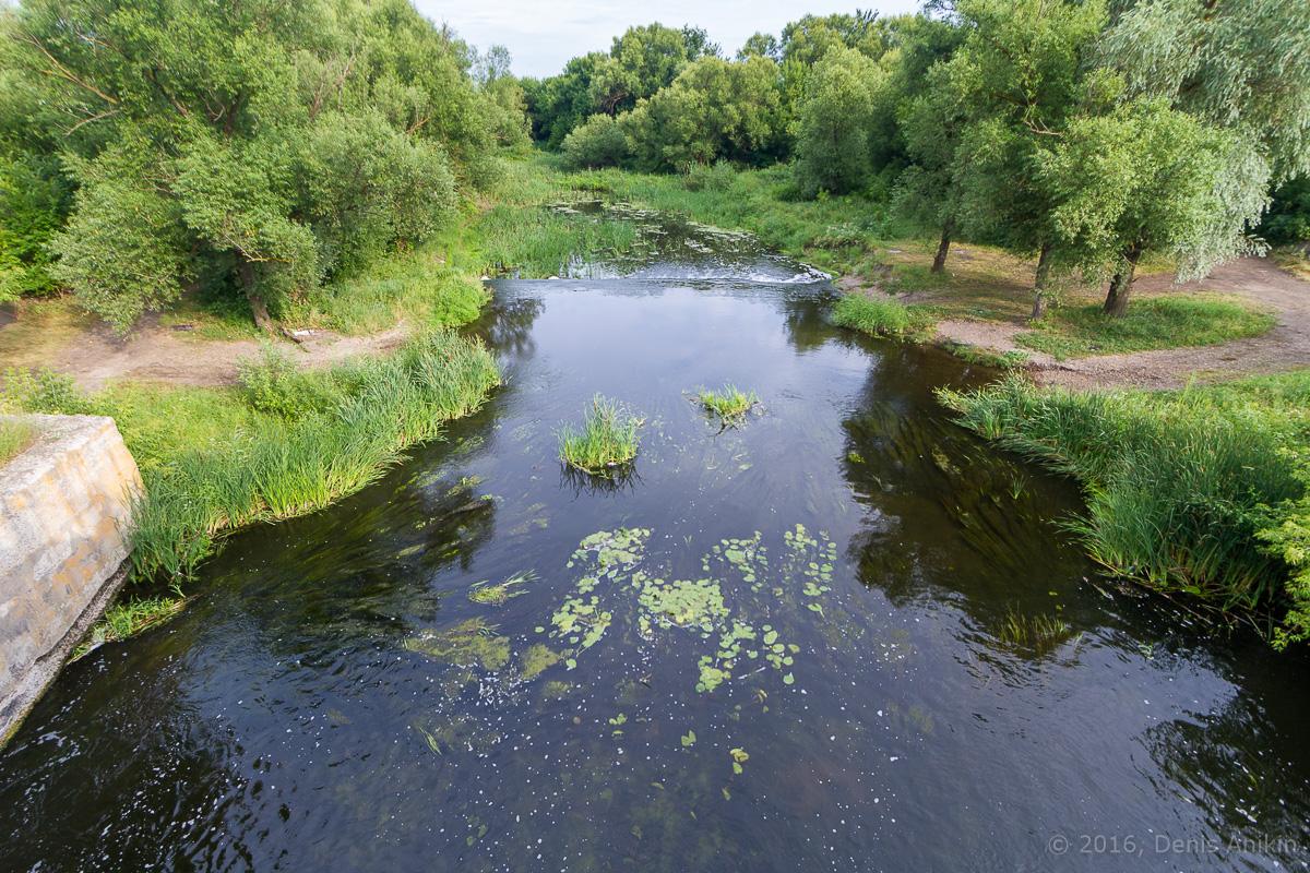 Калининск река Баланда плотина фото 9