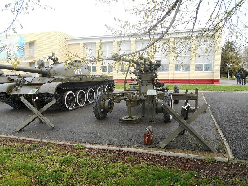 На выставке военной техники, Выселки, апрель 2017 ... DSCN1782.JPG