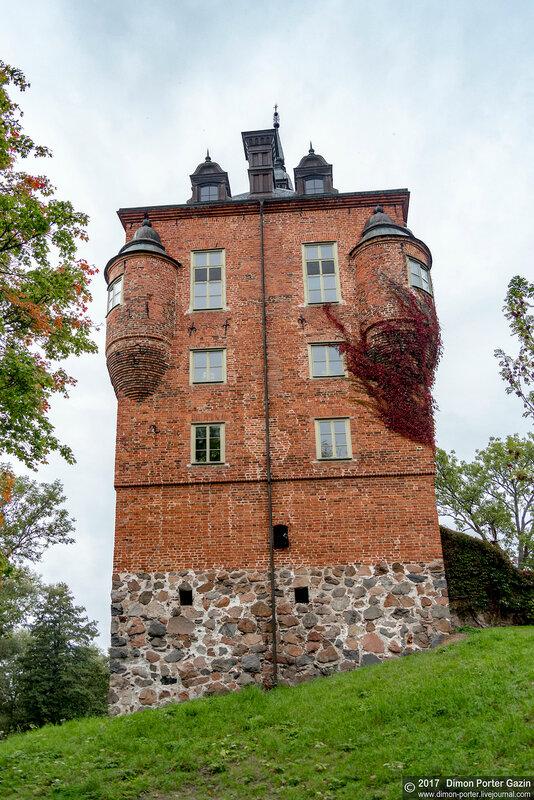 Швеция. Замок Вик