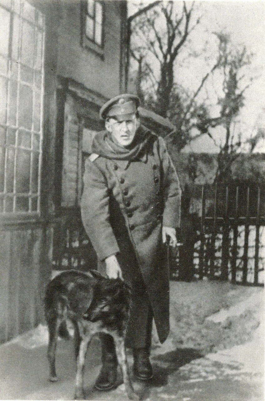 1916.  А.Блок в Парохонске