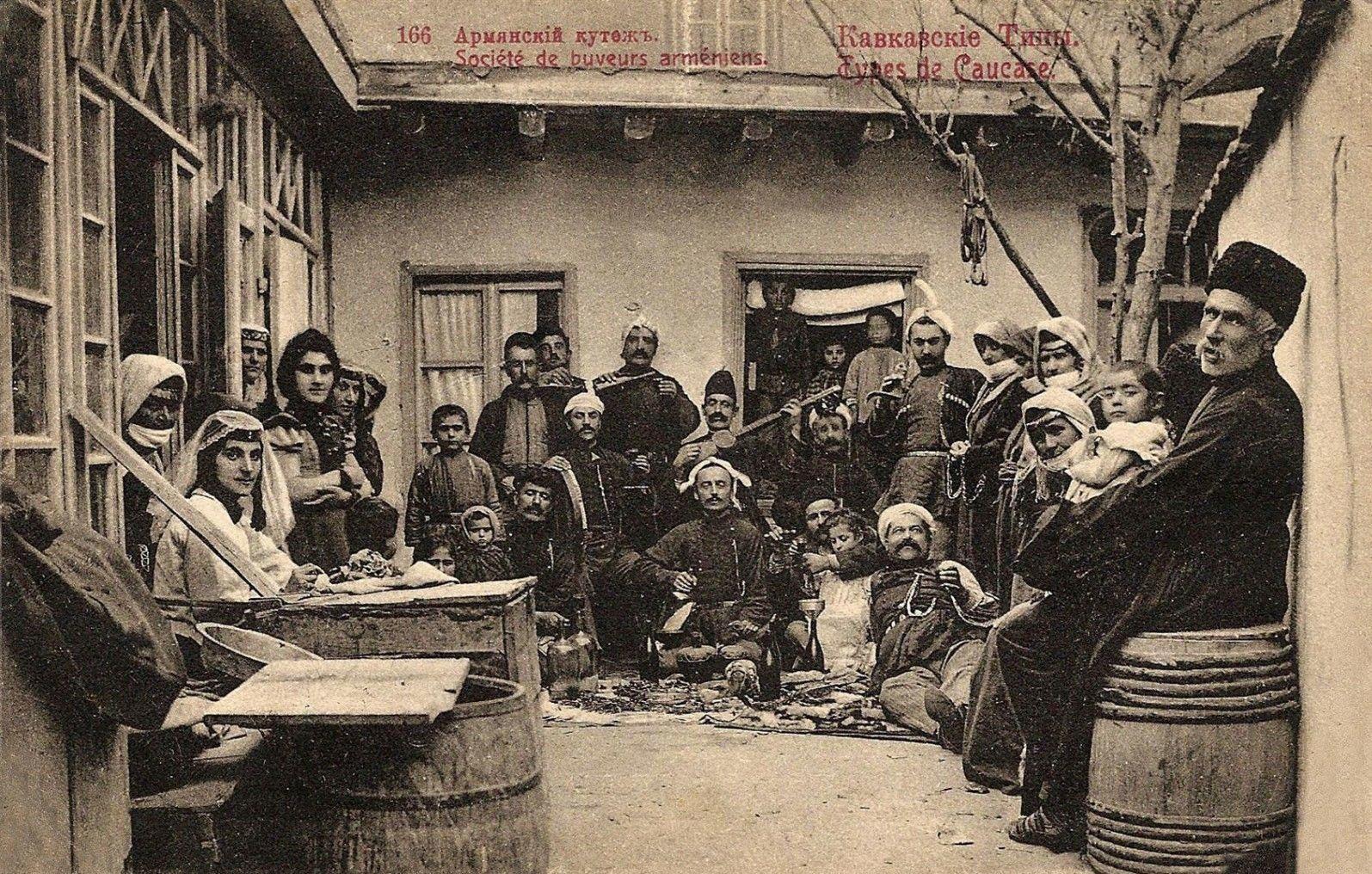 Армянский пир (вариант №2) в доме городского головы И.Г. Мелик-Агамаляна