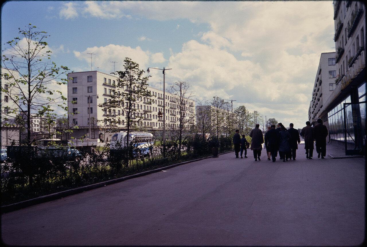Джон Репс в Ленинграде: 1959, 1964, 1989