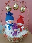 Вальтер Вика (рук. Савватина Светлана Николаевна) - Новогодние снеговики