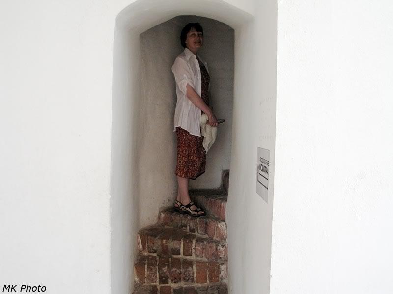 Лестница на звонницу
